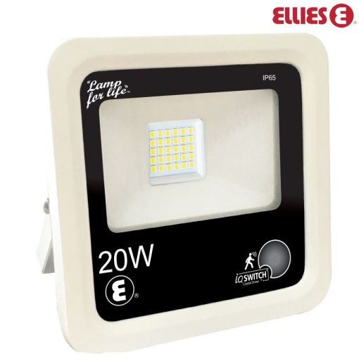 Ellies 20W Flood Light Day Night and Motion Sensor FLA&P20W