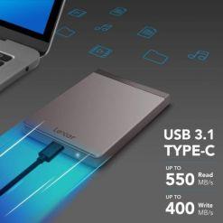 Lexar 2TB Portable SSD Upto 550mbs Read Speed