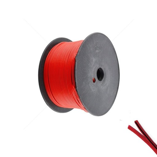 Speaker Cable 1.5mm Red With Black Trace Line
