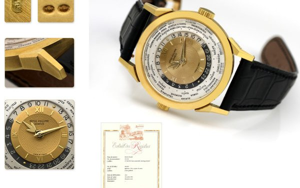 Patek Philippe World Time Sells for 1.25 million U.S. dollars