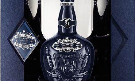 Diamond Jubilee bottle – God Save the Queen