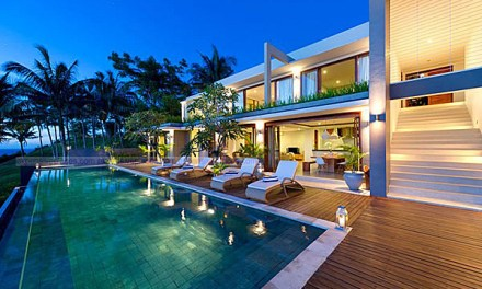Malimbu Cliff Villa on Indonesia's Lombok Island
