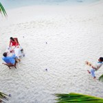 Kuramathi island – spectacular beaches tapering into an endless sandbank
