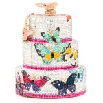 The Butterfly Kisses Crystal Cake by Judith Leiber