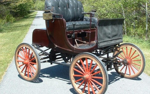 The world's oldest four-cylinder car to auction