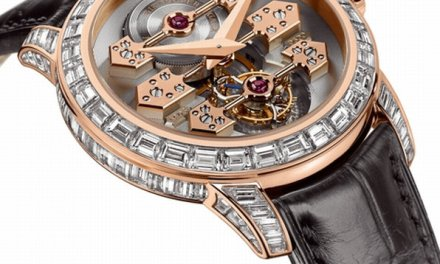 Girard-Perregaux Tourbillon with Three Gold Bridges
