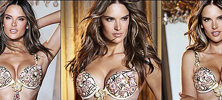 Victoria's Secret $2.5 million Floral Fantasy Bra