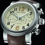 GRAHAM Silverstone Vintage 30: automatic bi-compax chronograph