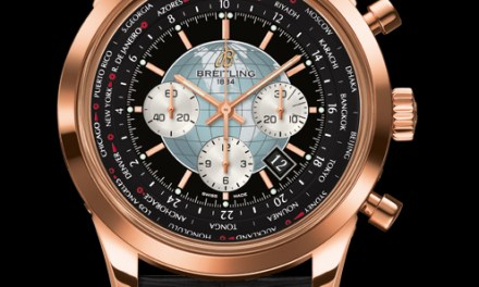 David Beckham is the Face of Breitling Transocean Chronograph Unitime watch