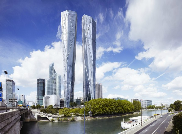 Europe's tallest buildings will be in Paris
