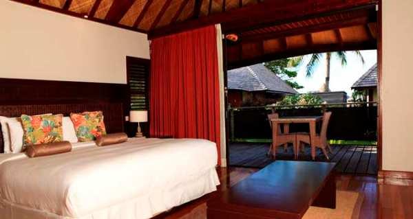 King Garden Bungalow,  bedroom view