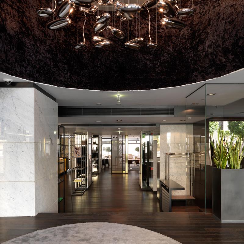 Hotel Sense Sofia lobby