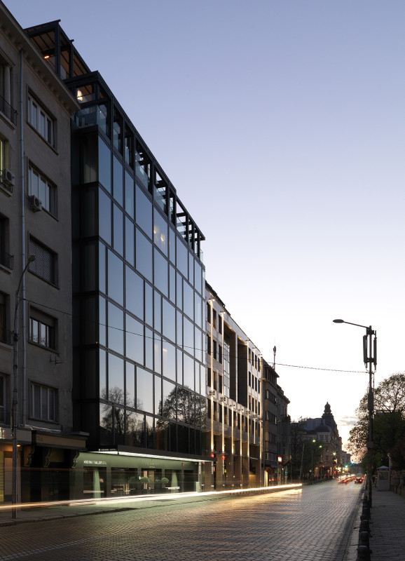 Hotel Sense Sofia exterior design