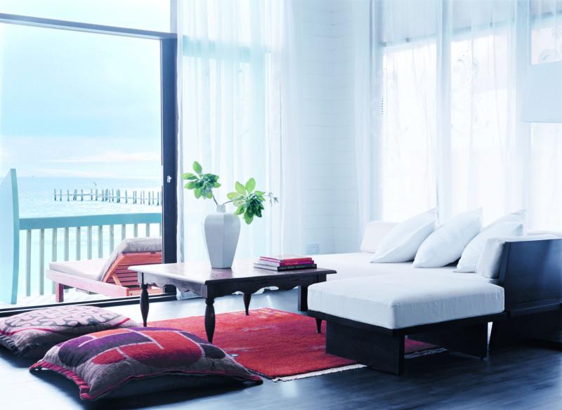 Cocoa Island Maldives inside room