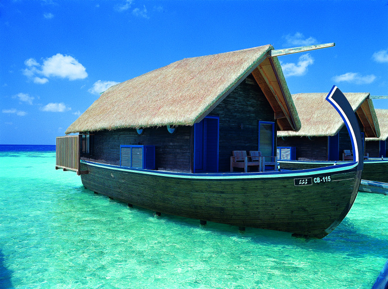 Maldives beautiful boat hotel