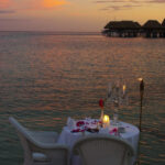 Dining in the water is so Romantic!