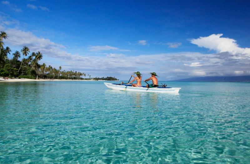 Sofitel Moorea Ia Ora Beach Resort boat