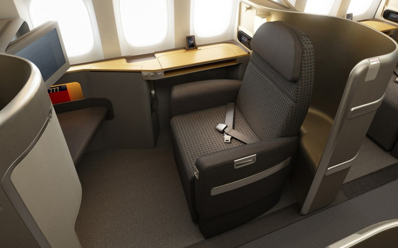 American Airlines first class seats