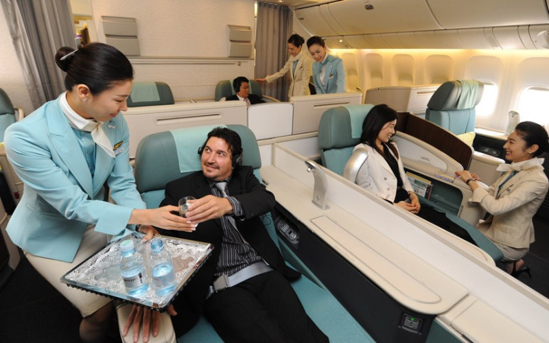 Korean Air first class seats