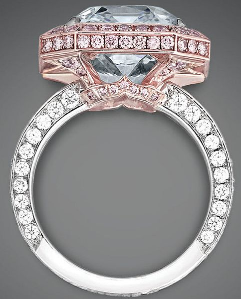 Blue Diamond World`s Most Expensive Diamond ring