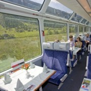 Glacier Express - spectacular railway in Switzerland