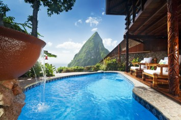 Saint Lucia, Ladera Resort