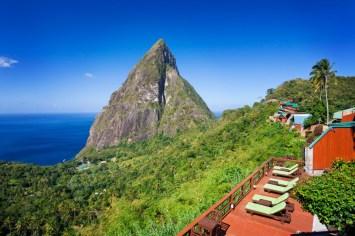 Saint Lucia, Ladera Resort