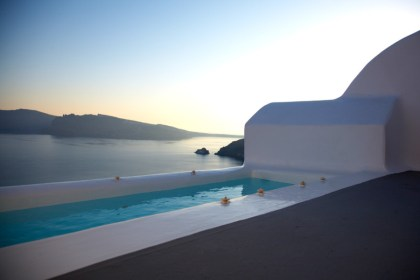 Katikies Hotel, Greece, pool