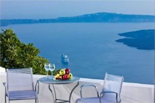 Katikies Hotel, Greece, breakfast
