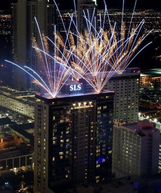 SLS Las Vegas opened its doors after $415 million renovation