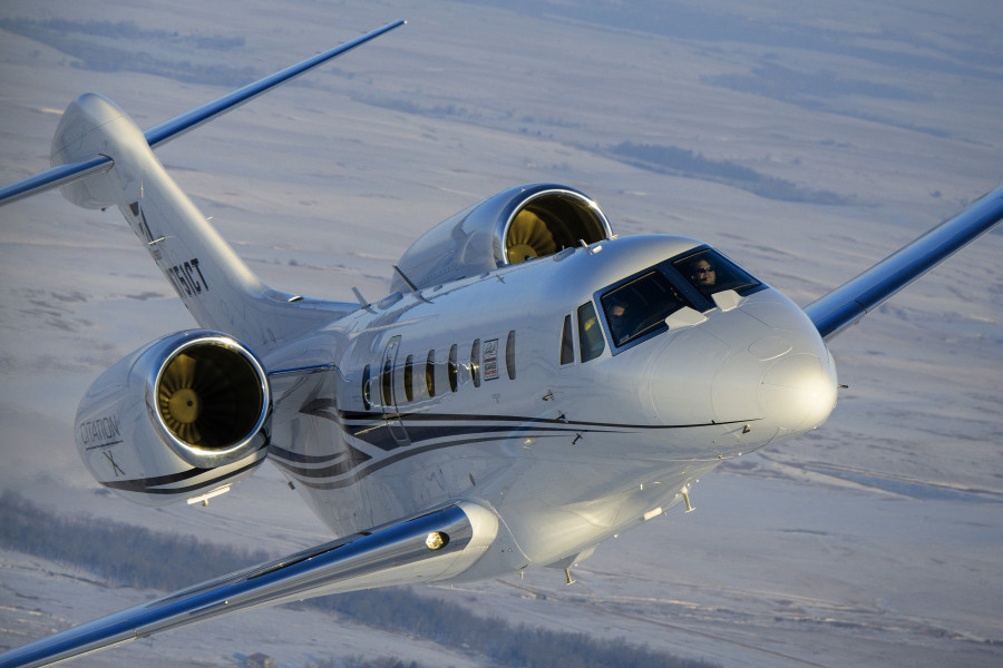 Citation X+ mid-size business jet