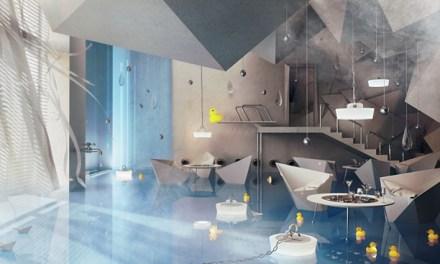 Bathroom Restaurant Design