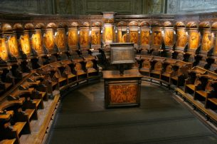 Choir, Cathedral of Savona*