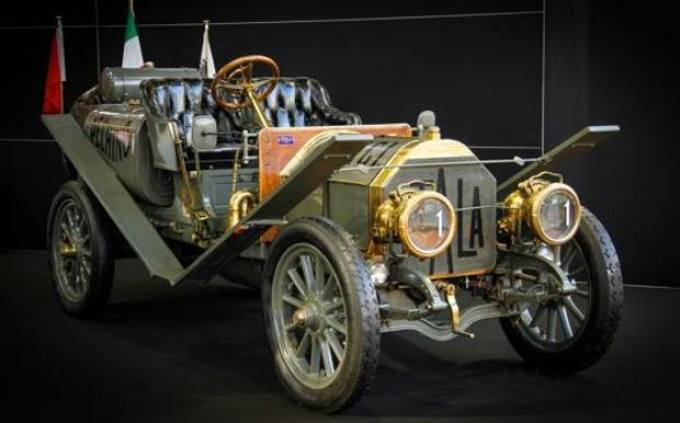 Itala 35/45 HP, photo from Gazzetta Motori