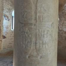 Column with a Greek inscription, Cattolica di Stilo
