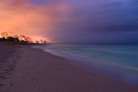 Before Sunrise in Ft. Lauderdale