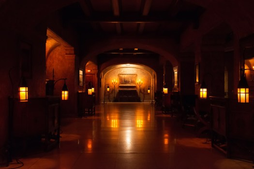This is a corridor in the Banff Springs Hotel. I came here late at night to capture the mood and feeling of the architecture. I only hope I didn't disturb the ghosts that surely must inhabit this chamber.