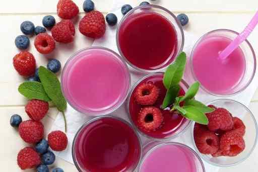 Fruits rouges_aliments et jus