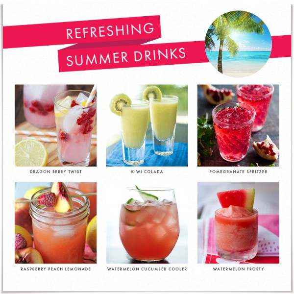 Summer Sippers: Refreshing Summer Drinks | The Style Edit