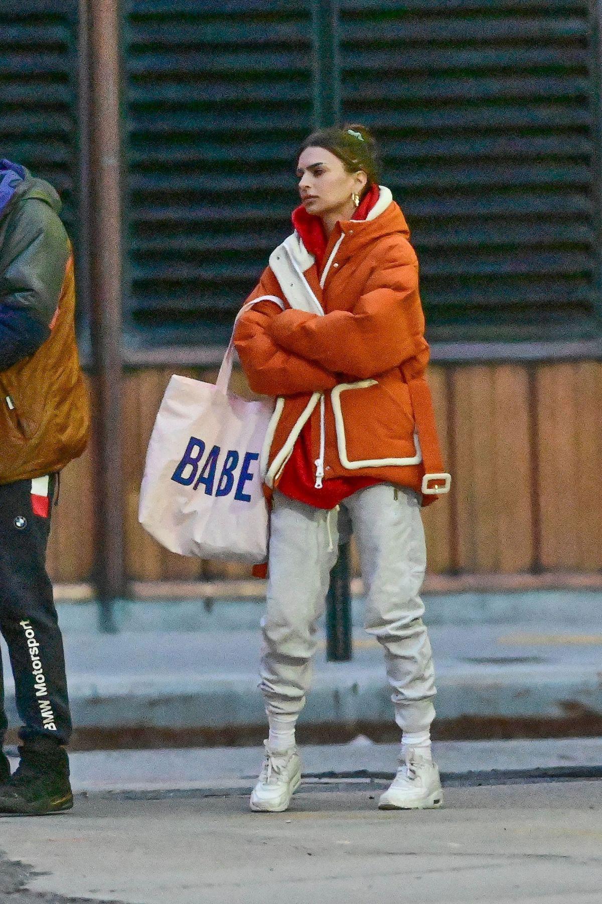 street style emily ratajkowski and