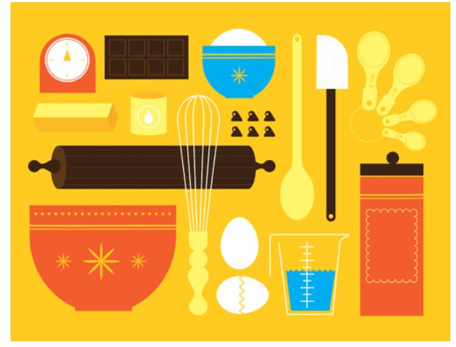 kitchen appliances and utensils lesson idea just facs. Black Bedroom Furniture Sets. Home Design Ideas