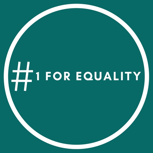 #1forEquality campaign logo