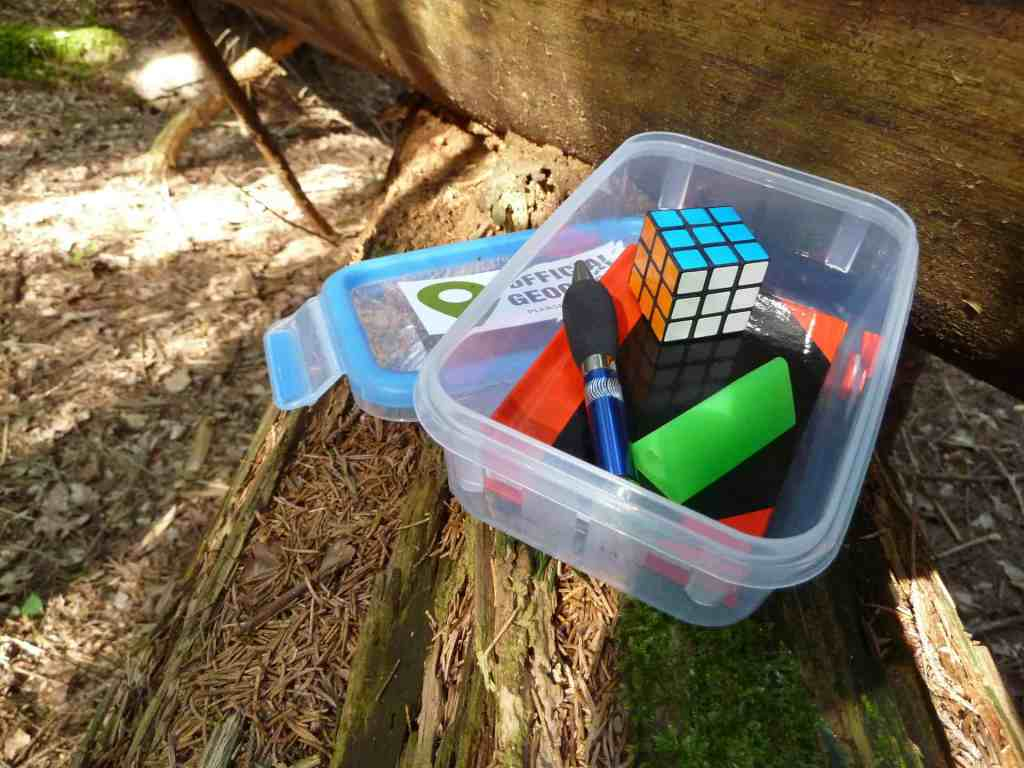 Real Life Scavenger Hunt Cache Contents