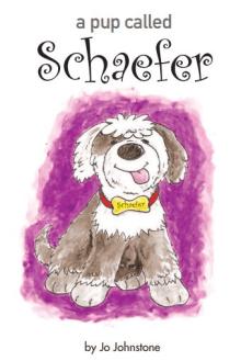 Children's book pup character