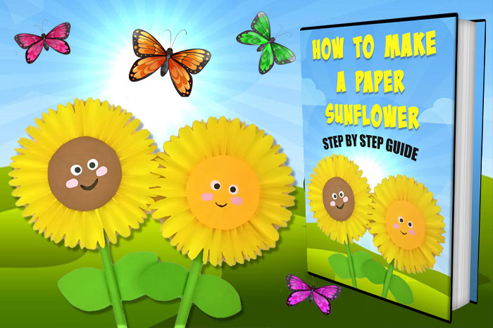 How To Make A Sunflower Out Of Paper
