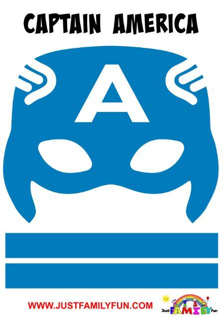 captain america superhero mask