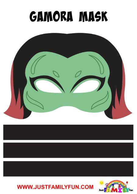 gamora superhero mask