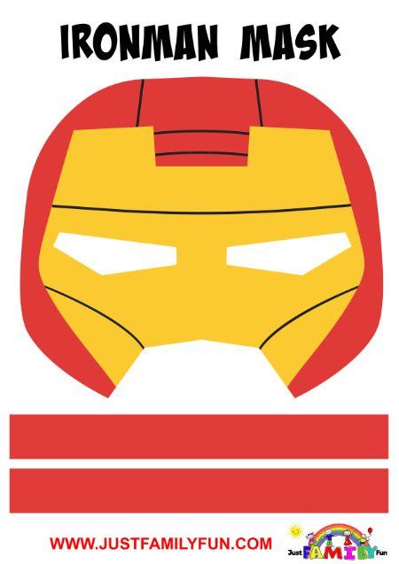 ironman superhero mask