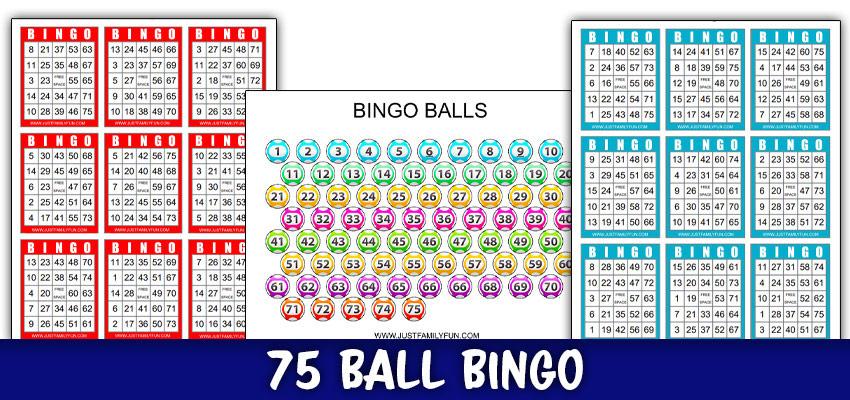 Printable Bingo Cards 1 75 pdf Game