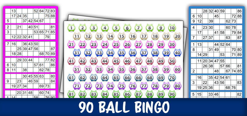 printable bingo cards 1 90